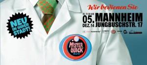 Einladung zu Mister Quick Markt