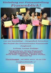 Einladung zur Fotoausstellung FRAUENBLICK