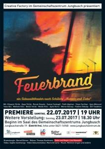 Feuerbrand Plakat